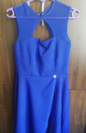 Sukienka nowa raz założona w kolorze Szafirowym
