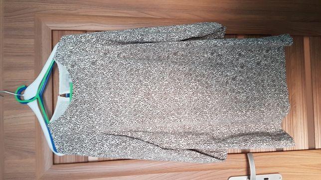 Sukienka w panterkę  h&m r. 38