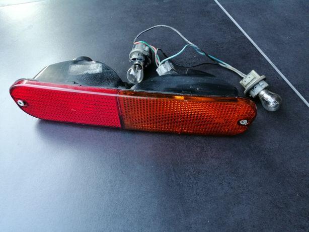 Land rover freelander lampa w zderzak prawa kpl