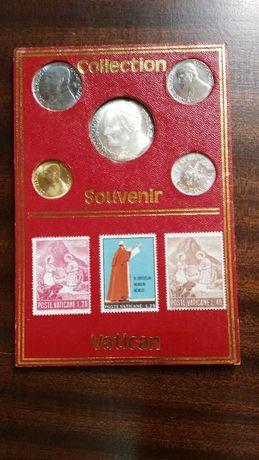 Liras italianas e selos