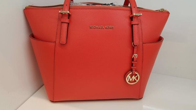 Сумка Michael Kors jet set east west saffiano tote