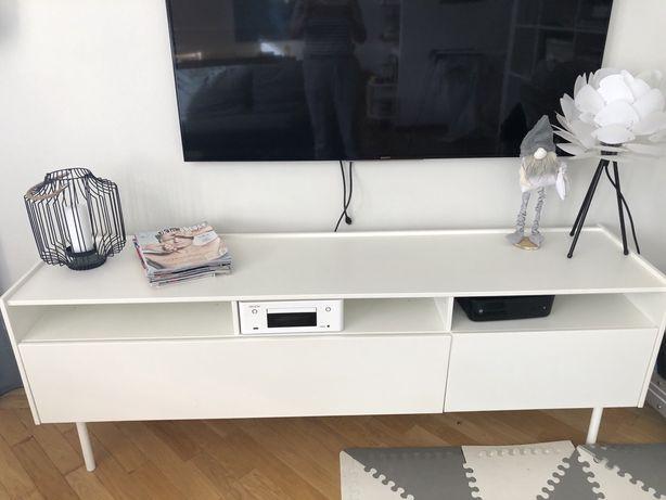 Szafka RTV komoda scandi sideboard bialy Ikea