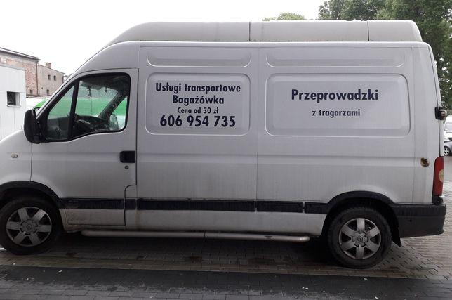PRZEPROWADZKI, usługi transportowe.