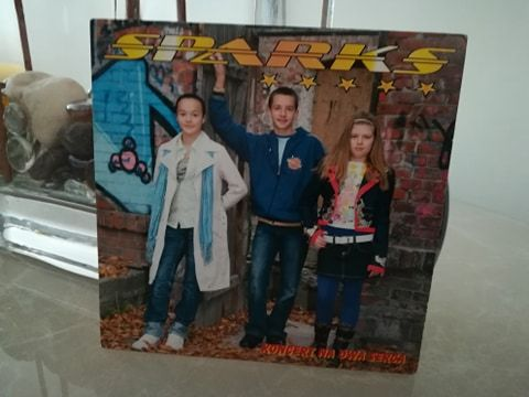 Płyta CD SPARKS Koncert Na Dwa Serca