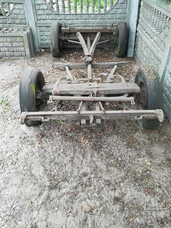 Wóz bryczka zaprzęg - szkielet