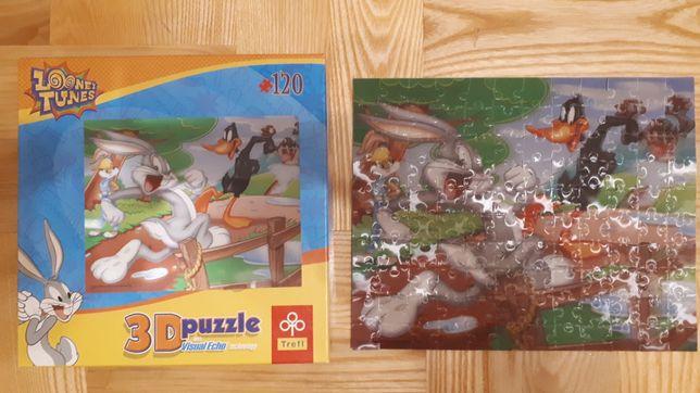 Puzzle 3d Looney Tunes 120 elementów Trefl