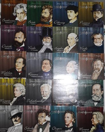 Grandes Compositores (21 CD's)