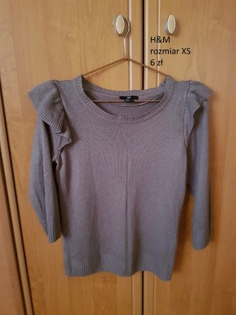 sweterek H&M rozmiar XS