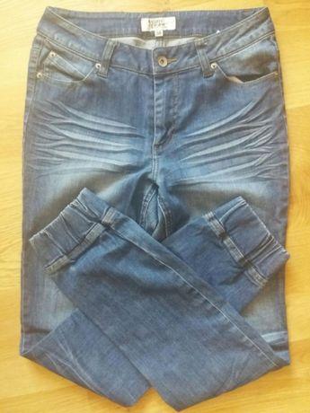 Jeansy Cubus jeans please z gumką na dole bojówki