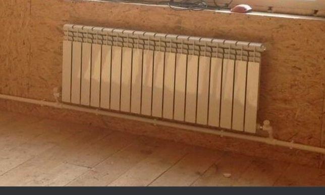 Монтаж системы отопления дома квартиры дачи пристройки