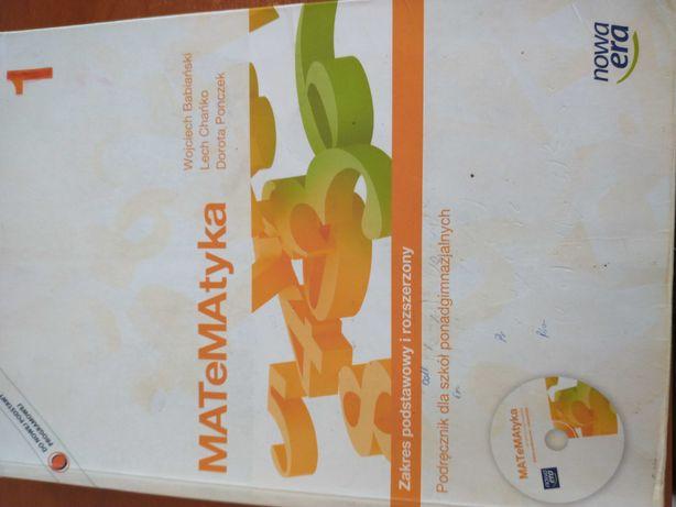 Matematyka podręcznik, zakres podstawowy i rozszerzony 1