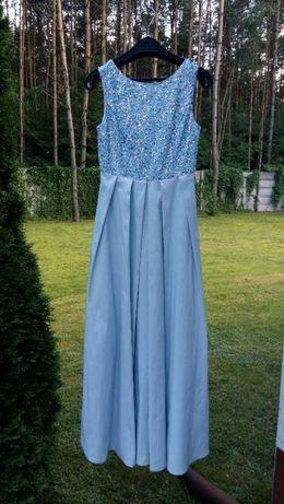 Suknia wizytowa długa rozmiar 34