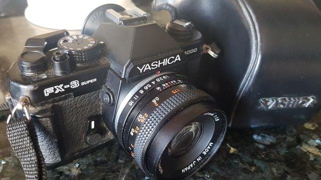Analógica Yashica fx3 super 2000