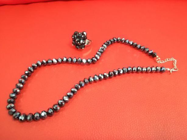 Украшение с камня, бижутерия, кольцо, ожерелье