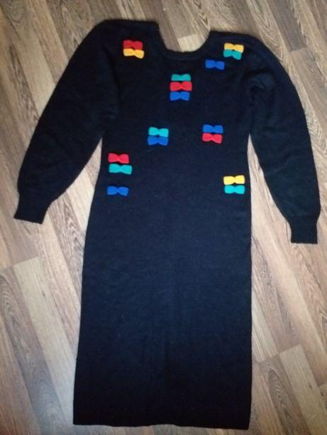 Платье женское теплое элегантное размер 48-50
