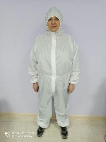 Защитный костюм многоразовый (Белый, молочный, хаки, синий)
