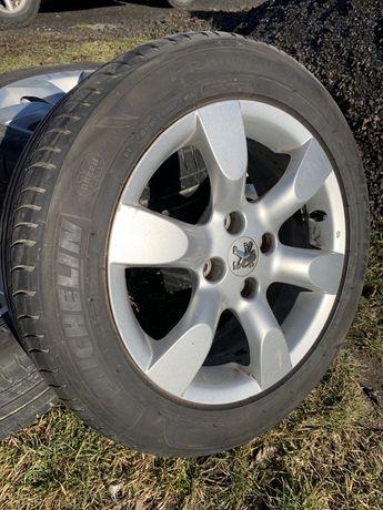 Letnie koła opony Michelin Primacy 3 205/55/R16 6mm idealne Lato