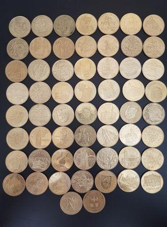 58 monet kolekcjonerskich 2 zł