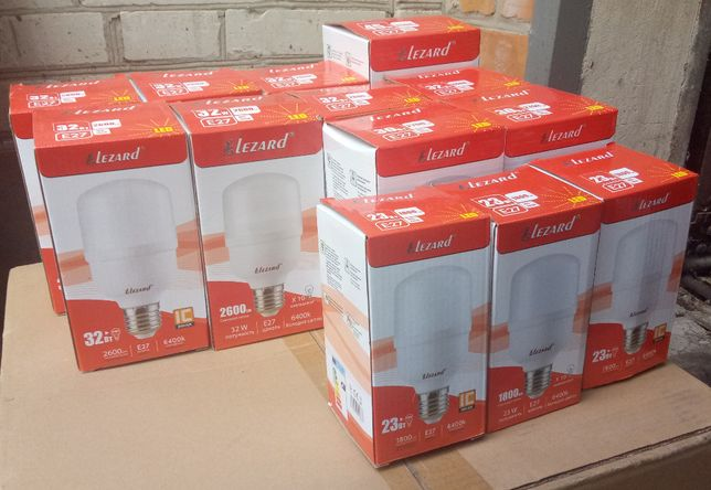 Светодиодная лампа Lezard LED 23W E27 6400K 1800 Lm