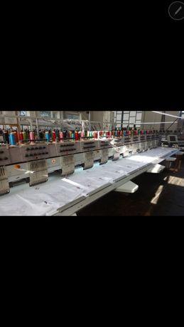 Продам вышивальную машину ZSK-12голов 2003года.Запчасти для ZSK