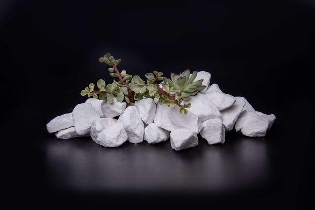 Kamień Ozdobny Grys Thassos Biały Frakcje od 4-8mm do 30-60mm - Tona