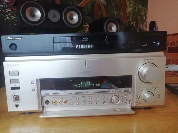 Kino  Domowe Amplituner Sony STR VA 333 ES + Magnat  Vintage