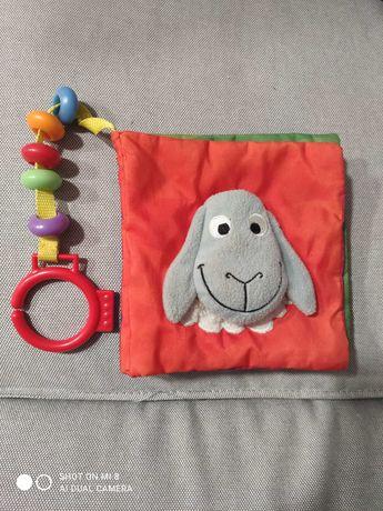Livro bebé em tecido