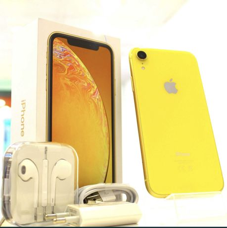 APPLE iPhone XR128GB Żółty / Yellow