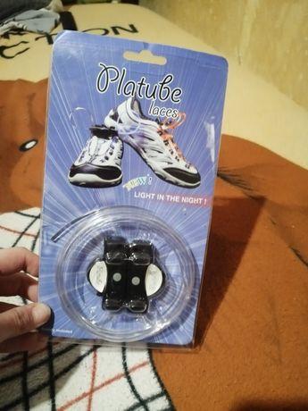 Светящиеся нейлоновые LED шнурки для детей и взрослых