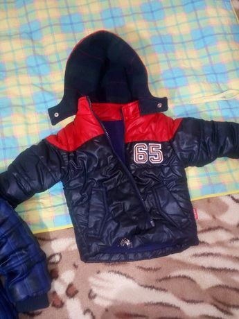 Курточка 1-2годика+подарок