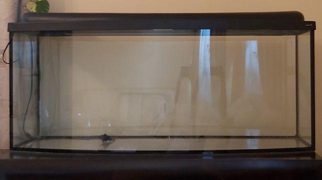 Akwarium z pokrywą 300l + Filtr Panoramiczna szyba