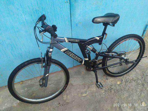 Азимут,взрослый скоростной велосипед, д. 26,