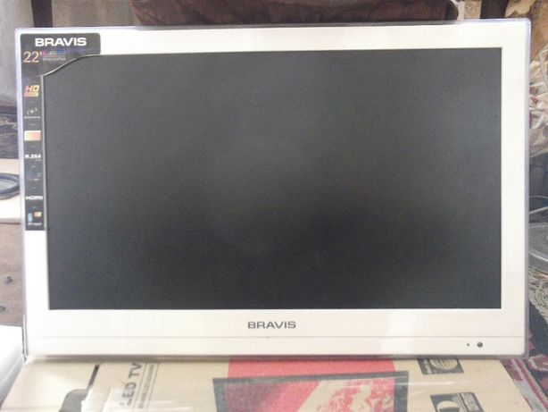 Продам телевизор BRAVIS 22 дюйма,Модель LED-22A80W(на запчасти)