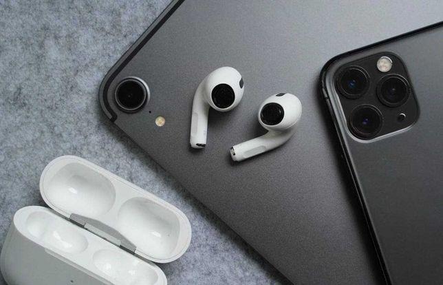 ЯКІСТЬ Оригінальні навушники AirPods Pro для iPhone SE 6 7 8 X 11 12 +