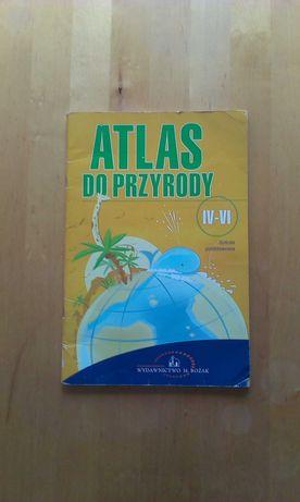 Atlas do przyrody. Szkoła podstawowa, klasy IV-VI