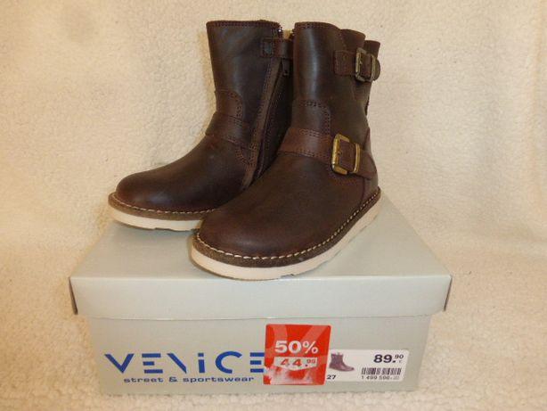 Кожаная обувь Venice, размер 27, стелька 18 Германия.