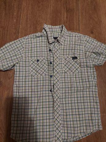 Рубашки с коротким рукавом школьнику 8-9-10лет