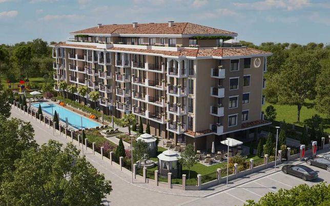 Nowy apartament nad morzem w Bułgarii. Słoneczny Brzeg, 2 pokoje