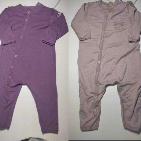 Piżamki wełna merino