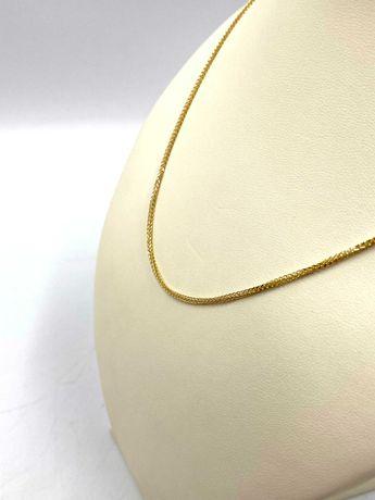Nieużywany złoty Łańcuszek Pr. 585 Waga: 4,35 G PLUS LOMBARD