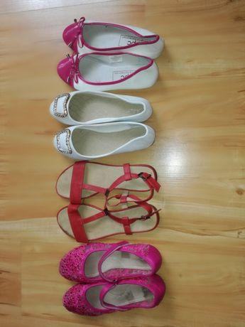 Buty damskie, baleriny, baletki, sandały