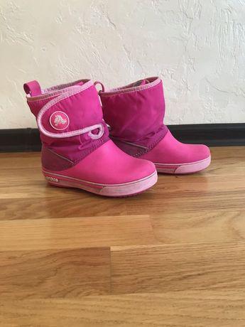 Зимние сапоги Crocs для девочки С11