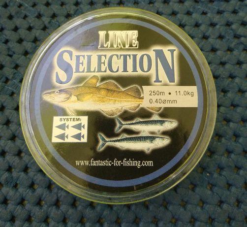 Żyłka wędkarska na dorsza i makrelę 0,40 i 0,45 mm Line Selection