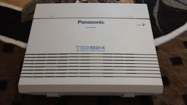 Офисная АТС Panasonic KX-TES824UA + плата расширения