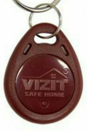 Изготовление ключей домофон vizit, цыфрал, метаком, dallas.