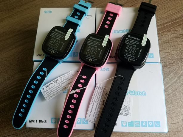 Детские смарт часы HW11 Водонепроницаемые +камера smart baby GPS watch