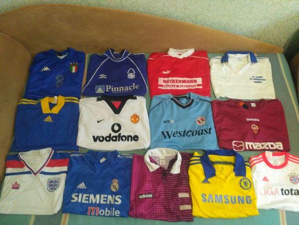 Ретро футболки футбольные. Реал Manchester Chelsea vintage