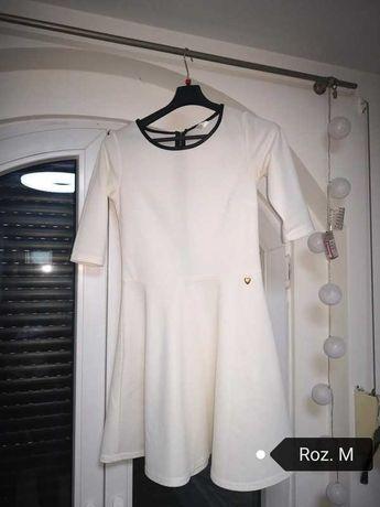 Sukienka  M biala dla mamy