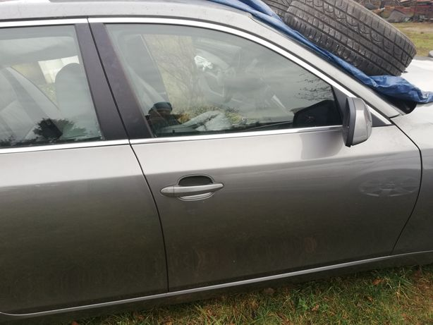 Drzwi BMW e60, e61, SPACEGRAU METALLIC A52, w oryginalnym malowaniu!