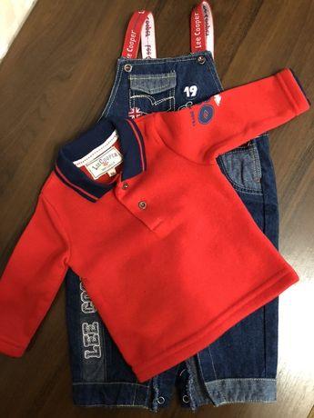 Пакет брендовых вещей на мальчика 3-6 месяцев